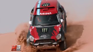 MINI ALL4 RACING 2015 - FIRST TEST ONLY SOUND DAKAR RALLY 2015