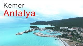 Kemer Antalya Turkey Winter 2019 Drone Video Best Places