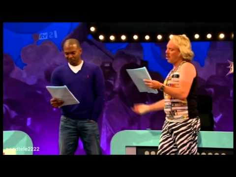 Celebrity Juice - Noel Clarke Acting With Keith Lemon