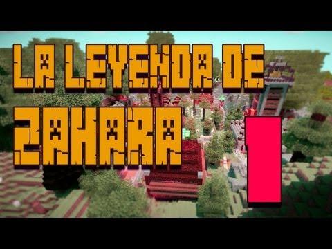 La Leyenda de Zahara - Episodio [1/5] Con Alexby y Sarinha - MINECRAFT: Mapa de Aventuras