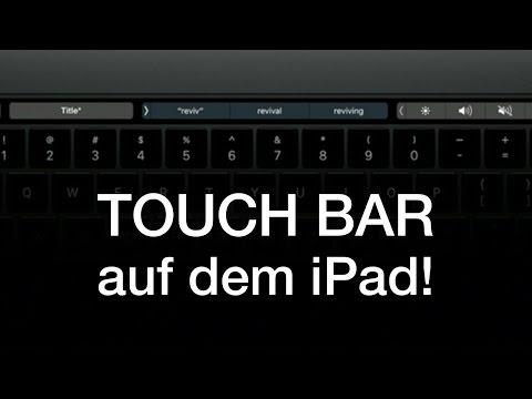 TOUCH BAR auf ALTEN Macs, auf dem iPad & iPhone (Tutorial) - How to...
