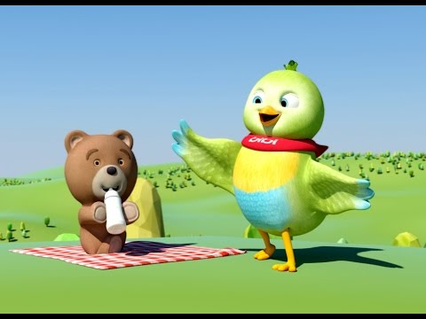 Cartoon for kids - funny Bibi animals
