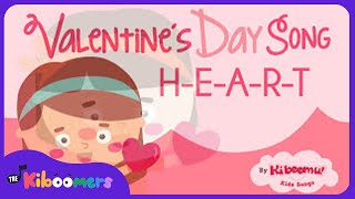 Heart Song for Kids | Valentine's Day Song | Valentine Song | The Kiboomers