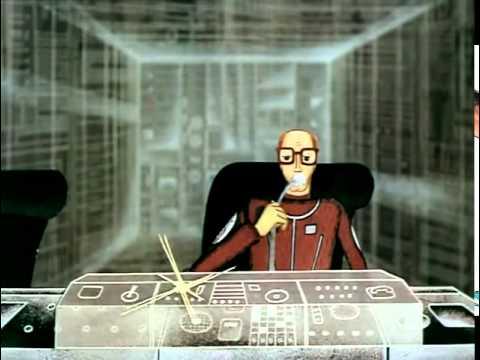 Космические пришельцы фантастический мультфильм СССР, 1982 Часть 2