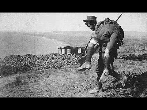 Gallipoli - Australian ANZAC legend. New mastered version mp3 (Oct 2012) of the Australian war heroes song can be downloaded at http://www.australianwarheroe...