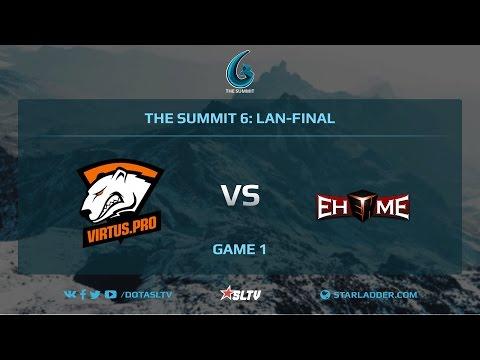 VirtusPro vs EHOME, Game 1, The Summit 6, LAN-Final