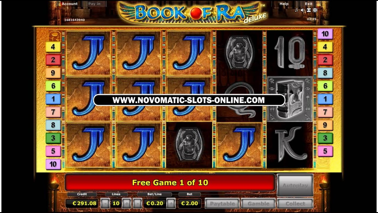 free slots online casino book of ra 2 euro