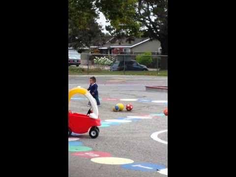 First day at Preschool Primary Plus - 07/17/2014