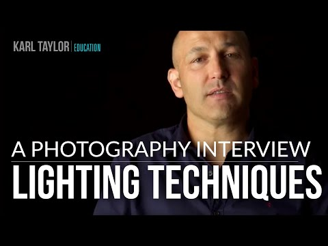 Lighting Techniques Interview with Karl Taylor - Part 3