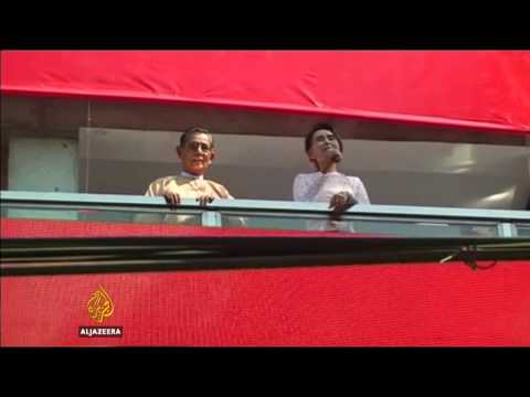 Myanmar opposition projected to win general elections