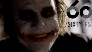 [60FPS] The Dark Knight Joker First Scene 60FPS HFR HD