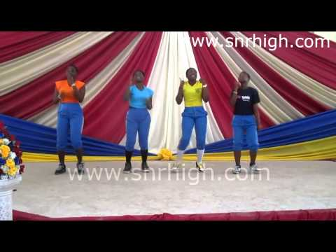 Yaa Asantewaa SHS Choreography Group performing @ the Let It Shine Program