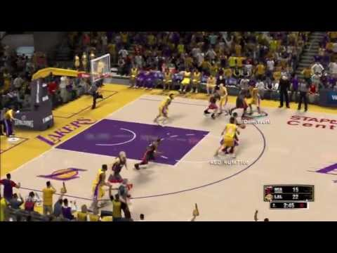 NBA 2K13: Los Angeles Lakers (LAL) - Miami Heat (MIA) - Monsterblock Jodie Meeks