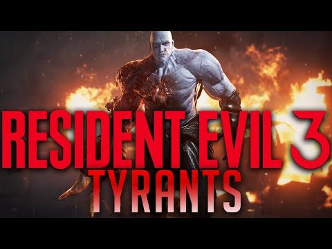 Resident Evil 3 Remake Tyrant Explained 2 - (Road to RE3 Remake)