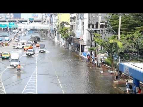 Hochwasser in Bangkok 05.11.2011