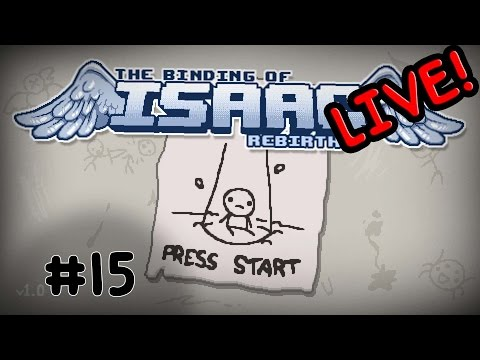 Let's Play - The Binding of Isaac: Rebirth - 15 - Explosive Situations