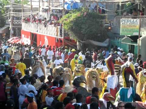 Jacmel Carnival Herons And Lions 2011