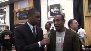 SUGAR RAY LEONARD Breaks Down Floyd Mayweather vs Manny Pacquiao & Who Is TBE