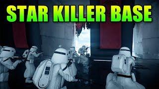 Star Wars Battlefront 2 - Star Killer Base Gameplay