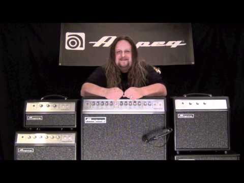 Ampeg GVT Series Guitar Amps - Tone Sample - Rock