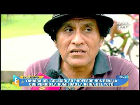 Yahaira Plasencia: Profesor Revela Su Secreto Mejor Guardado