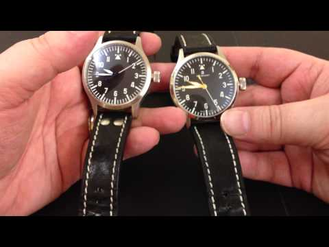 Watch & Knife review: Steinhart Pilot watches & Fallkniven F1