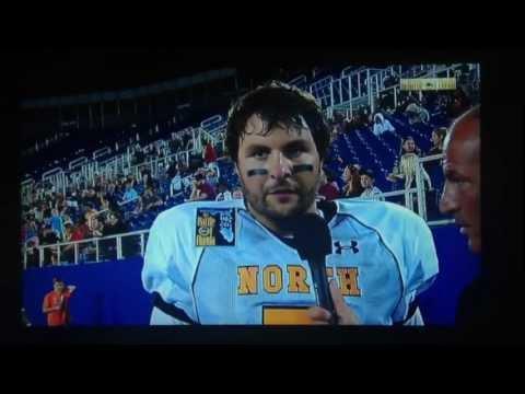 Stephen Garcia Battle Of Florida post-game interview