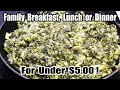 Family Breakfast, Lunch or Dinner for Only $4.86 – Eating On a Budget – The Wolfe Pit