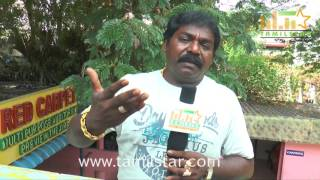 Imman Annachi At Pandiyoda Galatta Thangala Movie Team Interview