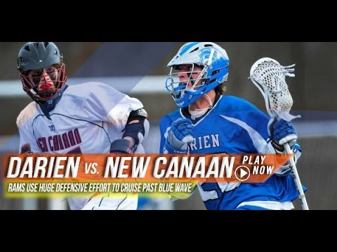Darien (CT) vs New Canaan (CT) | 2013 Lax.com High School Highlights