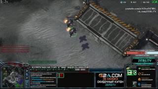 ЭПИЧНОЕ МАКРО НА 1 ЧАС 2x2 - ZERGTV & ArturZerg - StarCraft c ZERGTV