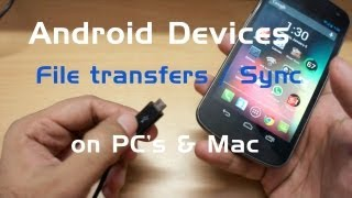 How to Transfer files from your Android phone to your PC / Mac computer