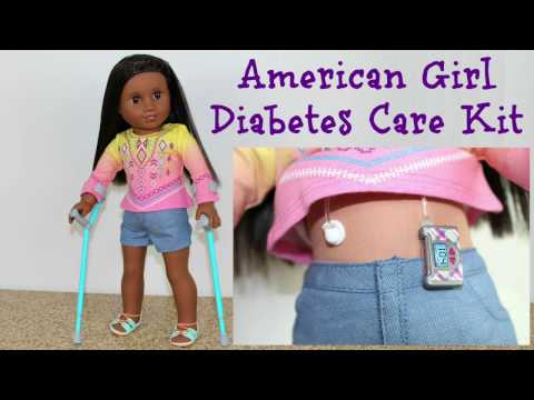 Diabetes Doll Set   American Girl Doll Review