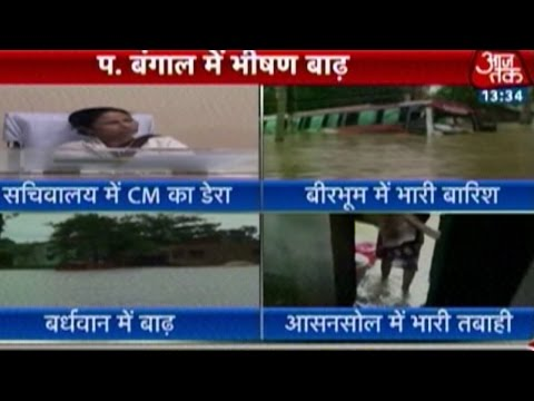 Floods in West Bengal: CM Mamata Banerjee Says Situation 'Beyond Control'