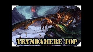NEVER RECALL Tryndamere Top Carry vs Sejuani S8 Ranked League of Legends