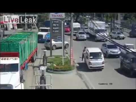Sucesos Internacionales 2017 - ACCIDENTE EN GASOLINERA DE SANTO DOMINGO (REPÚBLICA DOMINICANA)