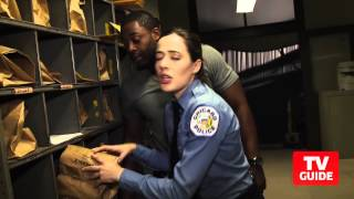Watch Chicago P.D.'s Marina Squerciati and LaRoyce Hawkins Give a Hilarious Set Tour