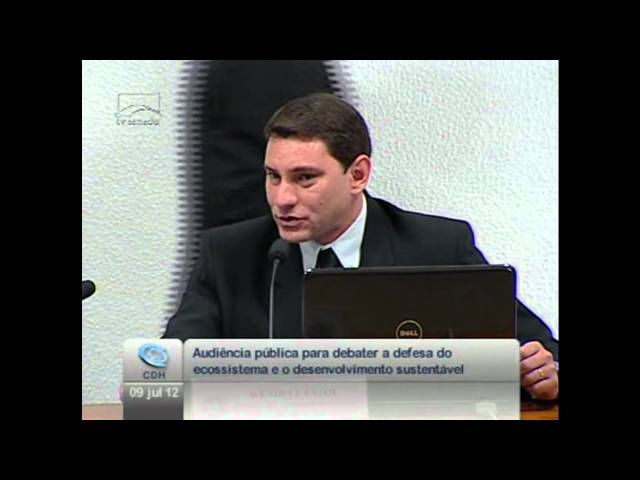 Sea Shepherd Brasil no Senado Federal - Wendell Estol (parte 1)