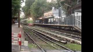 video Ferrocentral 265 haciendo su paso por Belgrano R
