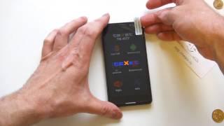 teXet TM-4677 - распаковка, включение, предварительный обзор