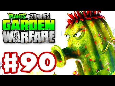 Plants vs. Zombies: Garden Warfare Gameplay Walkthrough Part 90 Power Cactus Xbox One