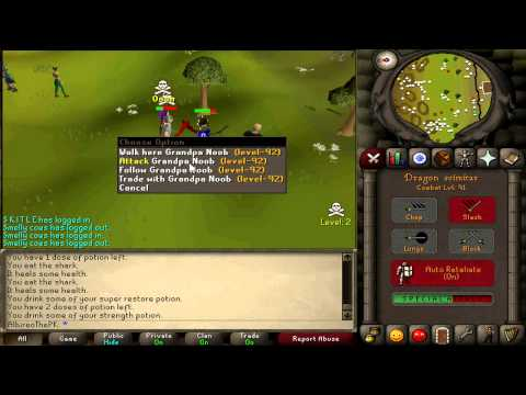 Preview – Max Strength Zerker, 60-99-45, Old School Runescape Pking