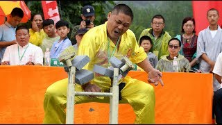 LIVE: First ever Kung Fu competition in Shaolin Temple of Mount Song