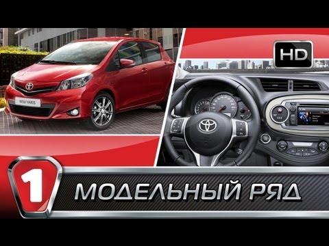 Toyota Yaris. Модельный ряд в HD. (УКР)