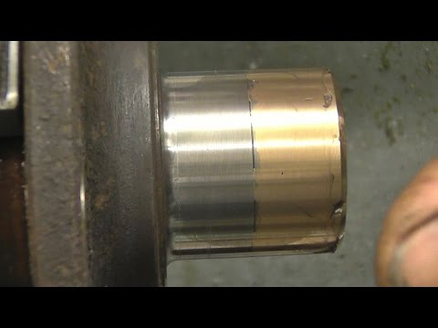 SNNC 164 P2    BSP  Threads  Alloy spool gun weld test
