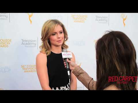 Interview w/ Rose McIver #iZombie @ 36th College Television Awards #CollegeTVAwards #EmmysFoundation