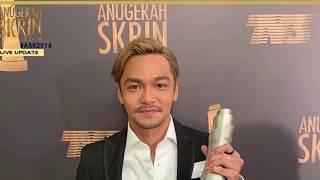 ANUGERAH SKRIN 2018 : Pelakon Lelaki Drama Terbaik Syafiq Kyle #ASK2018