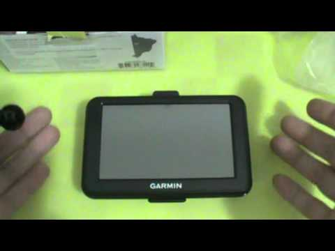 GPS Garmin nuvi 40 - Unboxing - PT-BR - Brasil