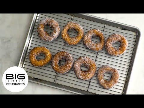 Simplest Sugared Doughnuts I Big Little Recipes