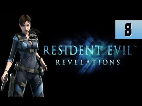Resident Evil Revelations Walkthrough - Part 8 Episode 3 Ghost of Veltro Gameplay